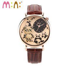 M:N: 3D Panda Woman Watch //Price: $29.39 & FREE Shipping //     #ladieswatch