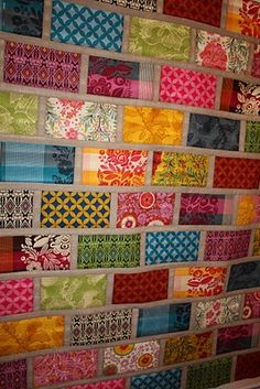 I wish I had these fabrics to make this with.
