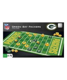 Another great find on #zulily! Green Bay Packers Checkers Game Set by Masterpieces #zulilyfinds