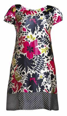 Receitas da Zilah: Costura - Molde de Vestido de Cetim para o verão tamanho GG da revista Manequim.