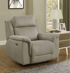 Noah Power Recliner with Power Headrest, Brown Luxury Home Furniture, Online Furniture, Furniture Decor, Power Recliners, Accent Chairs, Barrel, Home Decor, Studio Ideas, Red