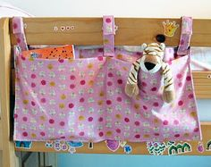 sew scrumptious: bunk bed tidy tutorial. easy to make tutorial