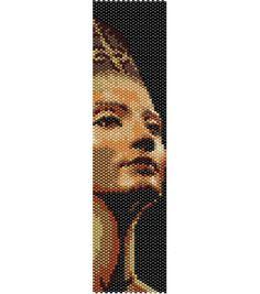 Schema peyote Nefertiti PDF per bracciale