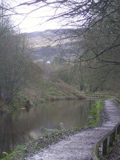 A stroll down the rive at Standedge Tunnel