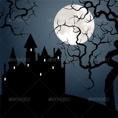 Halloween Landscape with Castle, Tree and Moon  #GraphicRiver         Halloween landscape with castle , tree and moon. Vector illustration, fully editable, vector objects separated and grouped. Editable EPS 10 Vector illustrations. Icluded files: .EPS, .JPEG 5000*5000 px.     Created: 4October13 GraphicsFilesIncluded: JPGImage #VectorEPS Layered: No MinimumAdobeCSVersion: CS Tags: antique #autumn #background #black #cartoon #castle #celebration #dark #dracula #fear #forest #halloween…
