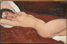 Reclining Nude Amedeo Modigliani (Italian, Livorno 1884–1920 Paris) Date: 1917
