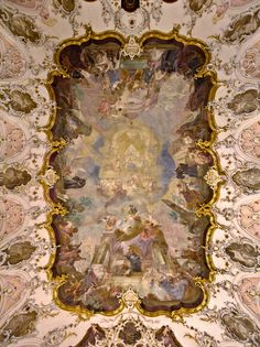 Augustinerkirche Mainz Fresco, Ceiling Painting, Reformed Theology, Armor Of God, Rococo Style, Michelangelo, Kirchen, Dom, Figurative Art