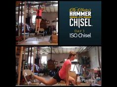 Master's Hammer & Chisel – Day #3 – ISO Strength Chisel – Kathi Reuter