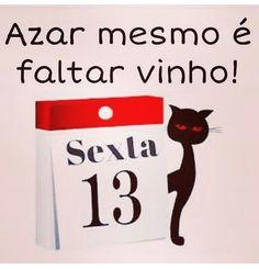 #Vinho ★ & #SextaFeira13