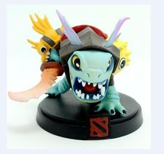 Level up your gaming set-up with these custom-made DOTA 2 action figures. You can even use them to decorate the inside of your PC Case for that truly great gami Dota 2 Game, Pvc, Minions, Action Figures, Queen, Styles, Games, Collection, Nerd