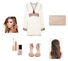 """""""Untitled #254"""" by paulamodeloguapa-1 ❤ liked on Polyvore featuring Talitha, Charlotte Tilbury, Accessorize, Stuart Weitzman, AERIN and Chanel"""