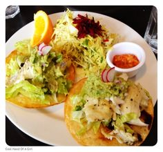 The Sosnicki Organic Produce Blog. Cool Hand Of A Girl's Fish Tostados!!