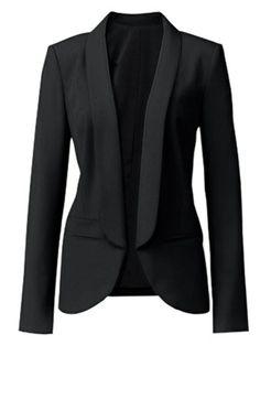 Trouvé Open Front Blazer, Nordstrom, $98.00. #fashion #fall