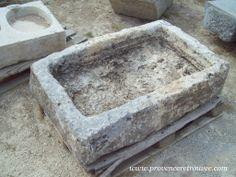 Old limestone trough