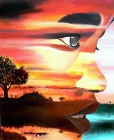 Perfil de Africa by Carmen Junyent.