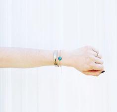 Another shot of our inspiring mood stone bracelet #bebonafide