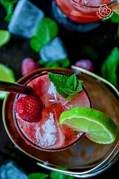 Dark Rum Strawberry Mango Mojito   Video