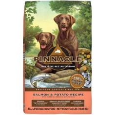Which one is your favorite? Pinnacle Natural ...  Check it out here : http://www.allforourpets.com/products/pinnacle-natural-salmon-and-potato-dog-food-24-lb