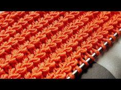 El esquema y la descripción de la labor de punto Baby Boy Knitting Patterns, Beginner Knitting Patterns, Knitting Videos, Easy Knitting, Knitting For Beginners, Crochet Patterns Amigurumi, Baby Knitting Patterns, Knitting Stitches, Stitch Patterns