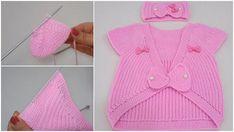 Çok Şık 1-3 Yaş Fiyonklu Örgü Bebek Yelek Modeli Sweaters, Fashion, Love, Vest Pattern, Moda, Sweater, Fasion, Pullover