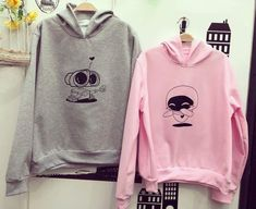 365 Printing Hubs and Wife Black Graphic Hoodies for Couples Cute Wedding Gifts Left- L//Right- 2XL