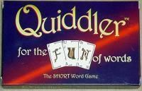 quiddler.  usually i hate word games, but in this one you can do equally well making lots of small words or fewer long words.