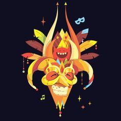 Estamos en Carnaval #lenalaballena #illustration #illustree #illustagram #vector #vectorart #vectorillustration #carnivalmask #mascara #mask #diablocojuelo #rd #dr #picame #illustrateyourworld #illustrationoftheday #tbf #carnavalvegano