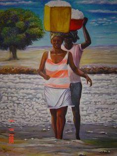 Nela Barbosa - Quadros - Cabo Verde