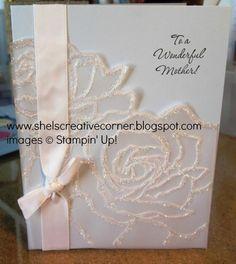 Manhattan Flower vellum card images Stampin Up!
