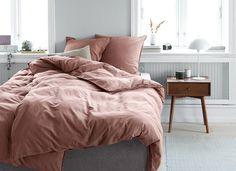 Dekbedovertrek SANNE gewassen 140x200   JYSK Hans Christian, Helsingor, Shakespeare, Comforters, Beach House, Blanket, Bedroom, Interior, Home