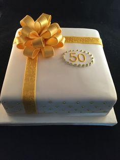 50 jaar getrouwd taart