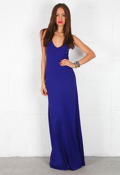 Feel The Piece V Maxi Dress