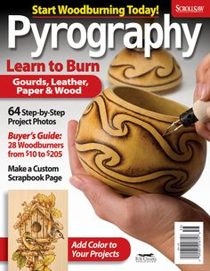 pyrography | Pyrography Machine Buyer's Guide * Play it Safe * What to Burn ...