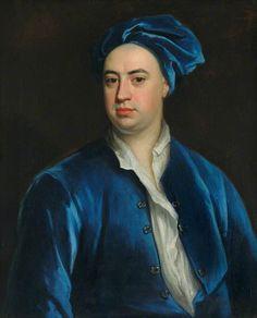 Martin Folkes (1690–1754) by Jonathan Richardson the elder, 1718. Society of Antiquaries of London