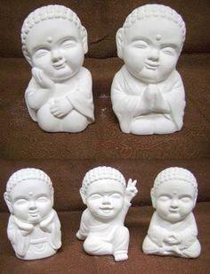 Budas Bebe De Yeso - $ 22,00
