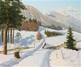 Boris Vasilievich Bessonov - WINTER IN DAUPHINE,...