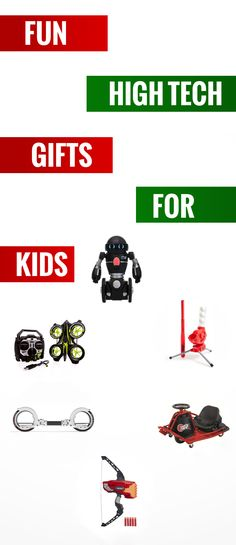 Hi tech xmas gifts for kids