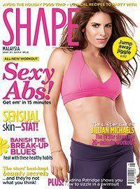 Shape Magazine Cover [Malaysia] (August 2011)