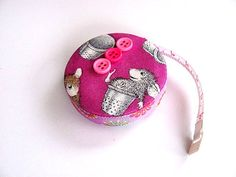 Measuring Tape with Fun Mice Retractable by AllAboutTheButtons