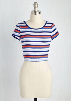 Playful Come She Will Top, @ModCloth