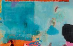 "Saatchi Art Artist: Christiane Lohrig; Acrylic 2013 Painting ""night shift"""