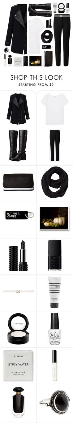 """""""Untitled #1648"""" by tinkertot ❤ liked on Polyvore featuring Splendid, Bandolino, RVCA, John Lewis, Kat Von D, NARS Cosmetics, Dorothy Perkins, Pirette, MAC Cosmetics and OPI"""