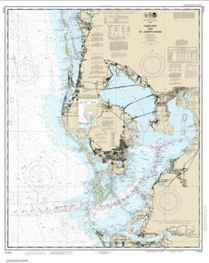 Tampa Bay and St. Joseph Sound (11412-46) by NOAA