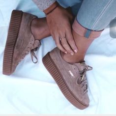 ISO!! Puma by Rihanna creepers or fenty!!!! Looking for a size 5.5 any color ! Puma Shoes Sneakers
