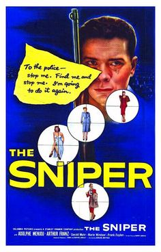 The Sniper Movie Poster