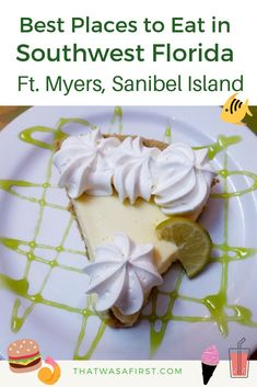 Your family doesn't want to miss eating at these fantastic restaurants while in Southwest Florida! Here's where to eat in Ft. Myers, Bonita Springs and Sanibel Island! #florida #familytravel #thatwasafirst #wheretoeat Florida Vacation, Florida Travel, Florida Beaches, Florida Keys, Bonita Springs Florida, Bonita Beach, Florida Food, Texas Travel, Vacation Places