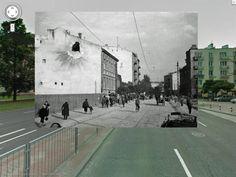 Warsaw - Second World War vs. Now