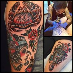 Kim-Anh Nguyen - Seven Seas Tattoos, The Netherlands will be attending the 11th London Tattoo Convention, 25/26/27 September 2015 Tobacco Dock
