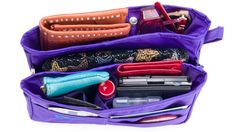 The Purse Perfector....helps to stay organized and drop it quickly into your favorite purse.