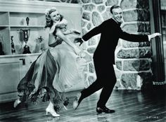 Fred Astaire and Ginger Rogers in Carefree